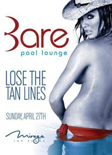 Bare Mirage Topless Pool