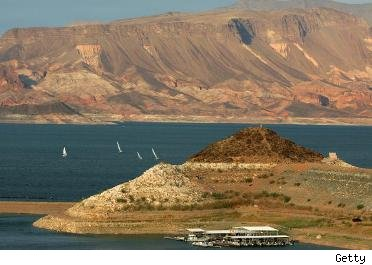 Lake Mead near Las Vegas