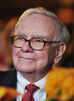 warren buffett is interested in investing in the Great White North and his partner Charlie Munger praised our traditional approach to banking which he credited with saving us from a deeper US-style recession