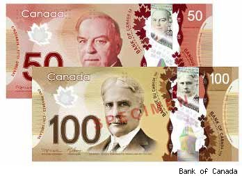 Canada's New Bank Notes