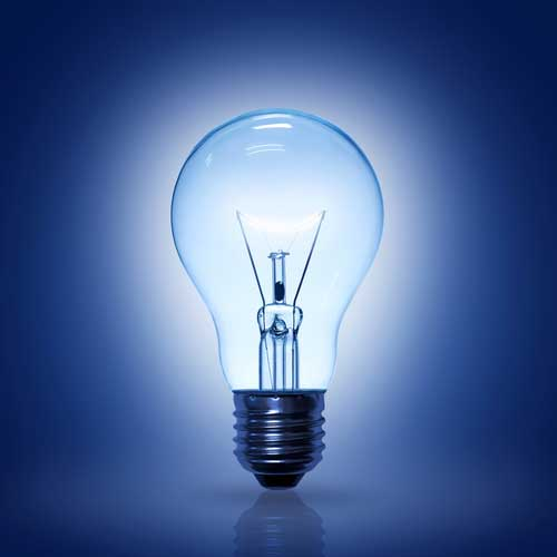 1. Light bulb