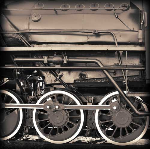 2. Steam engine travel