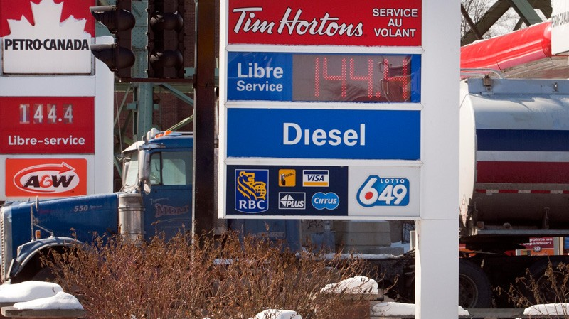 gas prices have to comes down says the canadian taxpayers federation