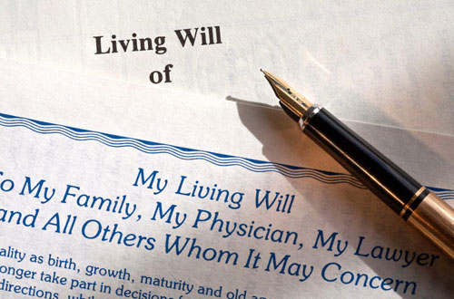 1. Living Will and Healthcare Proxy