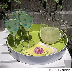 backyard entertaining on the cheap