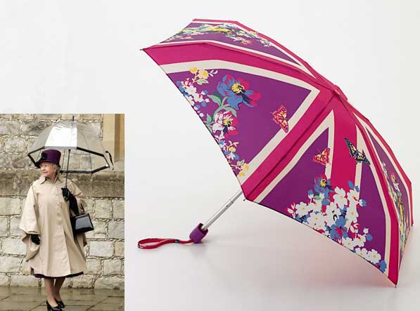 Fulton's Union Garden Umbrella in Fuschia