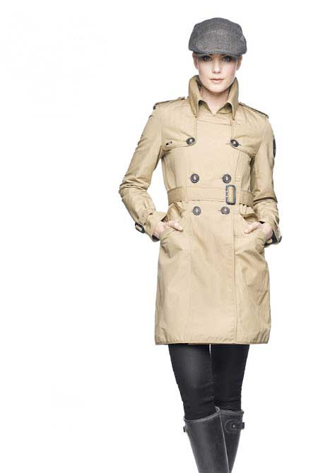 Nobis Justice Trench Coat