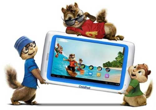 8. ARCHOS Alvin and the Chipmunks 3 Child Pad