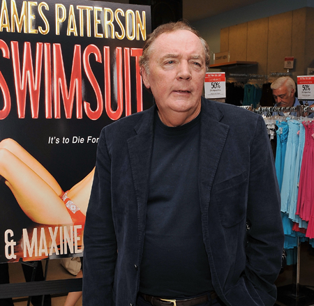8. James Patterson, Author