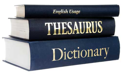 7. A Dictionary or Thesaurus