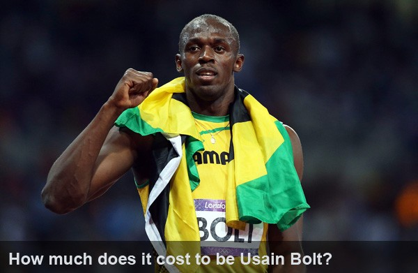 how much does it cost to be usain bolt?