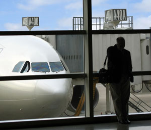 flight delays plague the industry