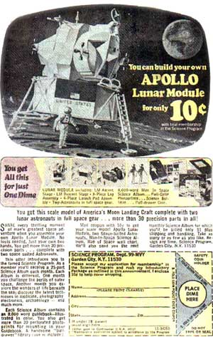 Model Apollo Lunar Module