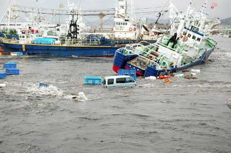 1. Japan earthquake and tsunami 2011, $309 billion