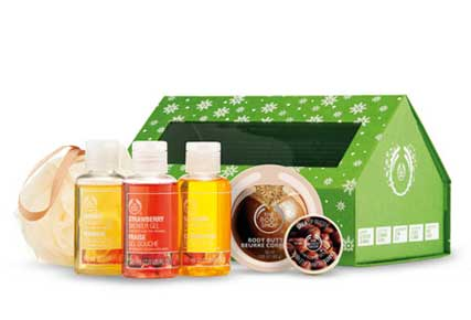 3. Schoolhouse Gift Box by The Body Shop