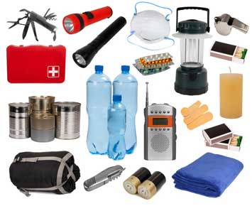 7. Check the emergency kit