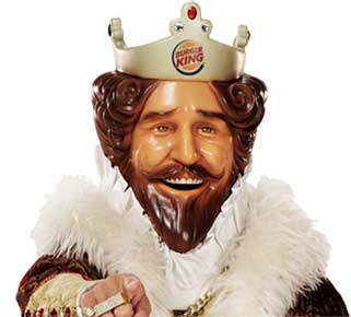 Burger King mascot