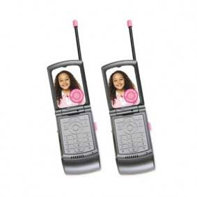 Flip Phone Walkie Talkies
