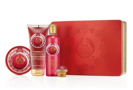7. The Body Shop Holiday Special Editions
