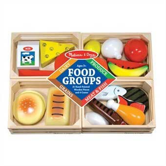 6. Melissa & Doug Food Groups Set