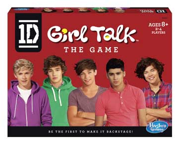 4. One Direction Girl Talk Game
