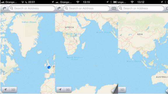 1. Apple Maps