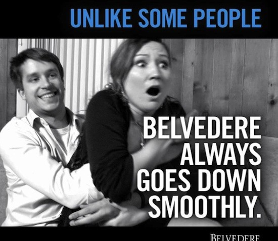 Got It Wrong: Belvedere Vodka
