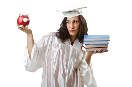 Which generation of parents is better prepared for college expenses?