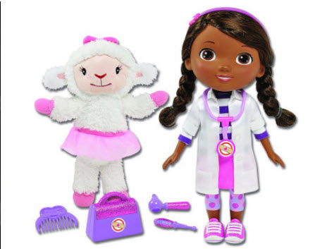 1. Doc McStuffins Time for Your Check Up Doll