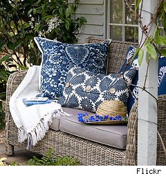 save on outdoor decorating