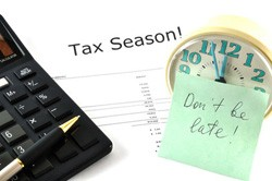 tax season is nigh