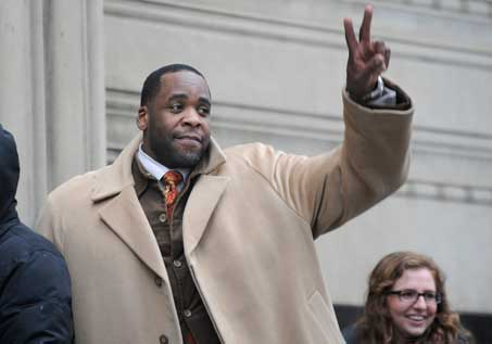 kwame kilpatrick ex-mayor of Detroit