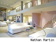 jane fonda loft by nathan martin 186cs051110 10 cheap celebrity homes on the market. Los Angeles Real Estate, Beverly Hills Homes, Beverly Hills Real Estate   http://www.ChristopheChoo.com