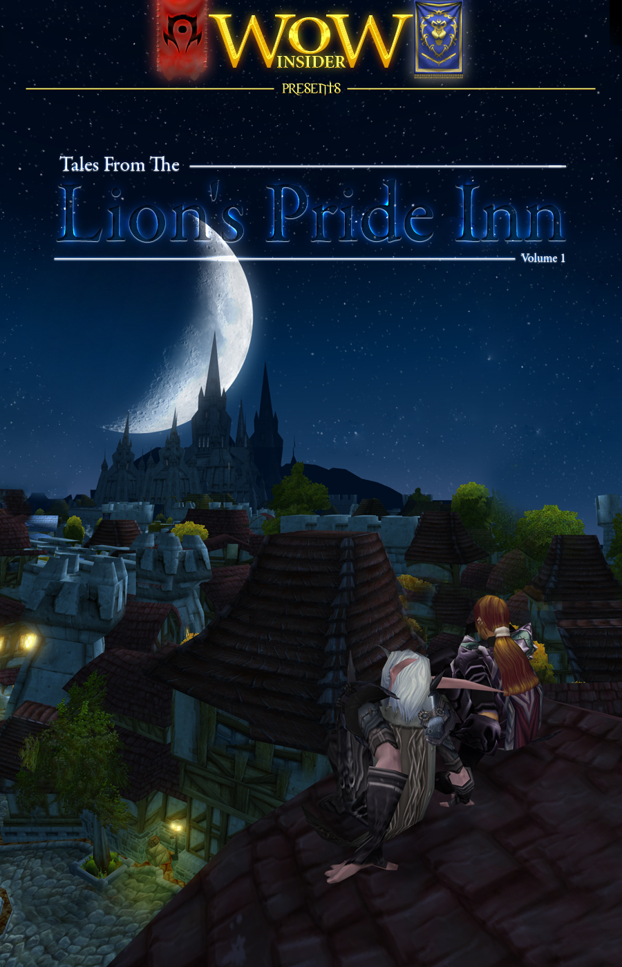 Tales from the Lion's Pride Inn Volume 1 - Cover