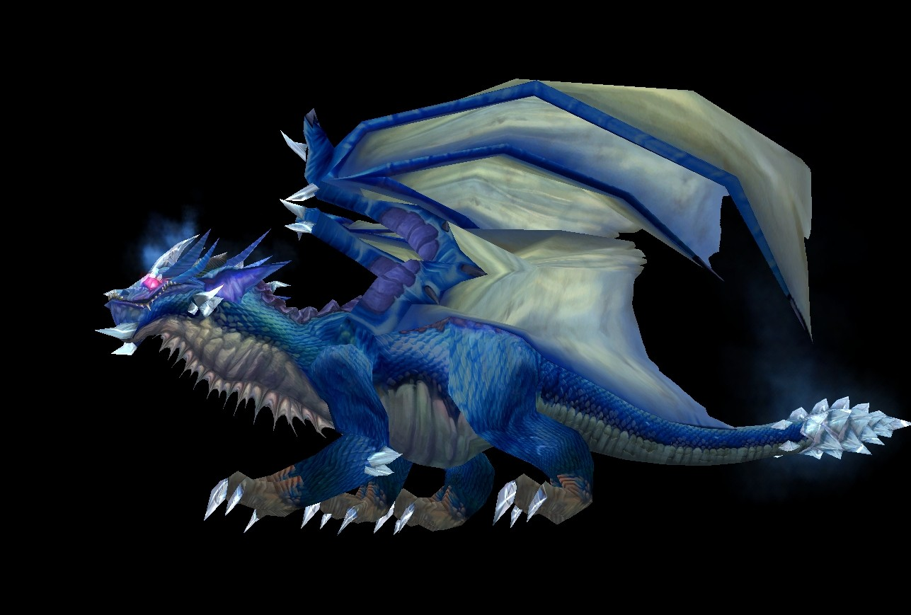 Kaelcgos, The Blue Dragon