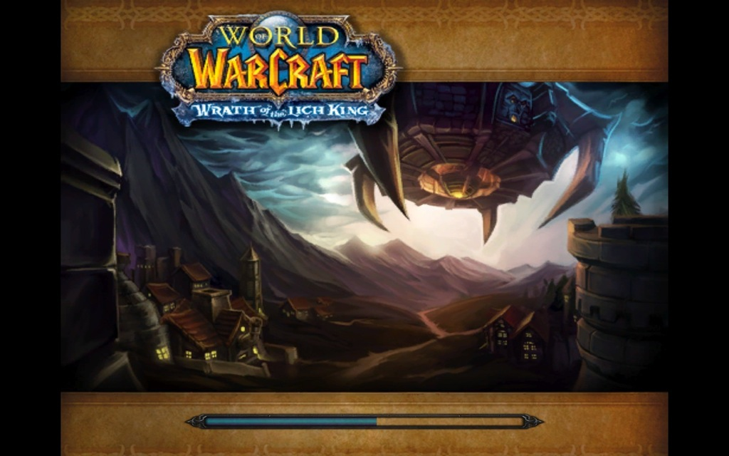 Death Knight loading screen