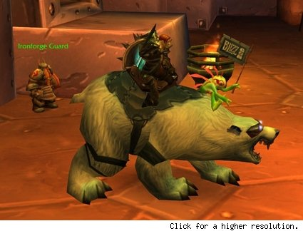 Polar Bear Mount