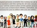 Microsoft Announces Avatars