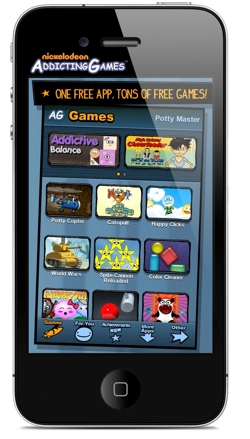addicting games to download on iphone