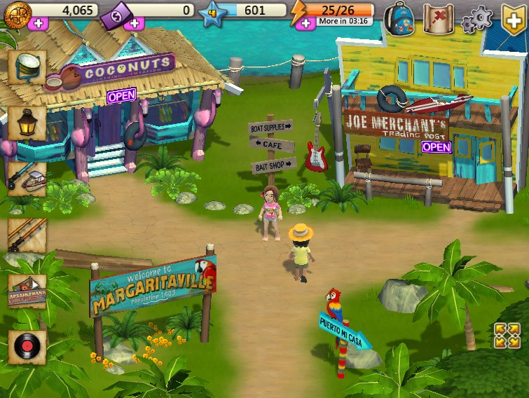 Gaming It Up: MargaritaVille Online: Jump into a life of