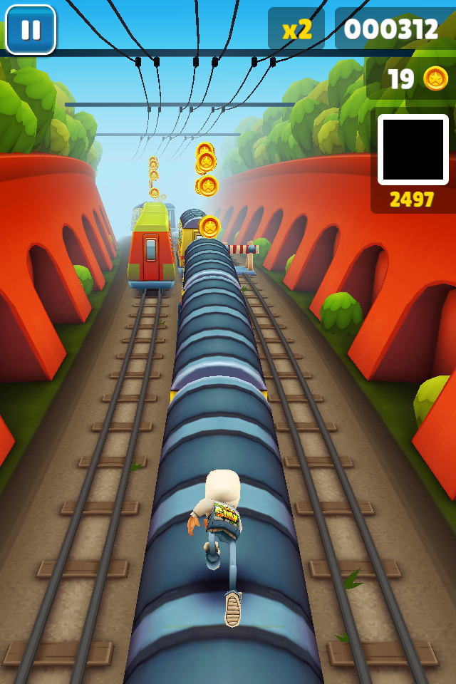 Subway Surfers gives Temple Run a run for its money on iOS
