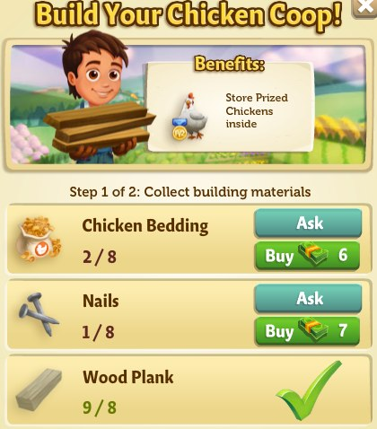 Prized Animal feature in FarmVille 2