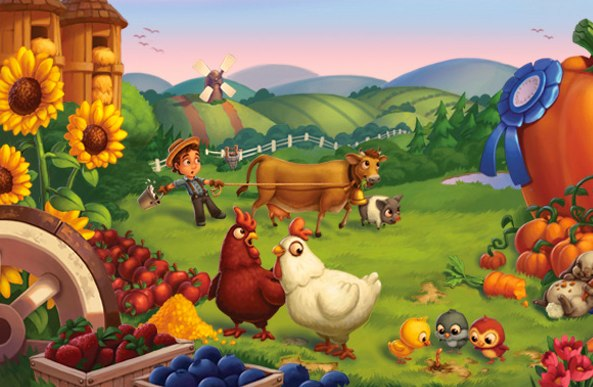 Crafting Kitchen Farmville