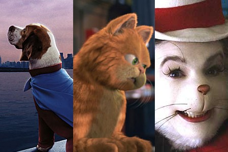 Underdog, Garfield, and Dr. Seuss' Cat in the Hat - When Talking Animals Attack