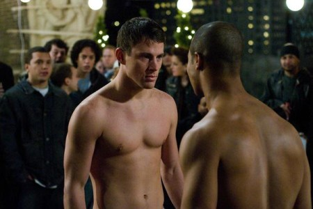 Channing Tatum and Brian White in 'Fighting' (Rogue Pictures / Relaltivity Media)