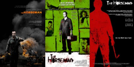 'The Horseman' poster montage