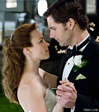 Rachel McAdams and Eric Bana in The Time Travelers Wife