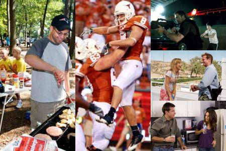 Monday Night Poll: Food, Family, Football, or Film?