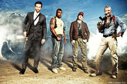 The cast of The A-Team