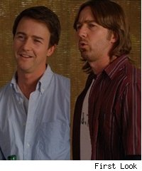Edward Norton in 'Leaves of Grass'